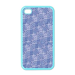 Modern Abstract Geometric Apple iPhone 4 Case (Color)