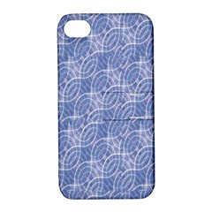 Modern Abstract Geometric Apple iPhone 4/4S Hardshell Case with Stand
