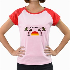 Cancun Mexico Women s Cap Sleeve T-Shirt