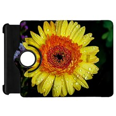 Yellow Flower Close up Kindle Fire HD Flip 360 Case