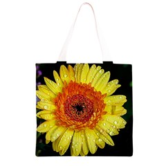 Yellow Flower Close up Grocery Light Tote Bag