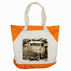 Vintage Chevrolet Pick up Truck Accent Tote Bag
