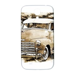 Vintage Chevrolet Pick up Truck Samsung Galaxy S4 I9500/I9505  Hardshell Back Case