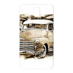 Vintage Chevrolet Pick up Truck Samsung Galaxy Note 3 N9005 Hardshell Back Case