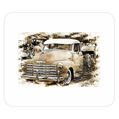 Vintage Chevrolet Pick up Truck Double Sided Flano Blanket (Small)