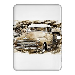 Vintage Chevrolet Pick up Truck Samsung Galaxy Tab 4 (10.1 ) Hardshell Case