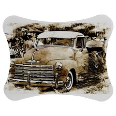 Vintage Chevrolet Pick up Truck Jigsaw Puzzle Photo Stand (Bow)