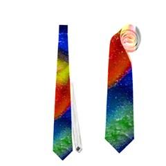 Tie Dye Flower Neckties (two Side)