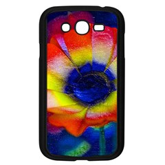 Tie Dye Flower Samsung Galaxy Grand DUOS I9082 Case (Black)