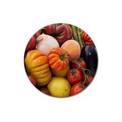 Heirloom Tomatoes Magnet 3  (Round)