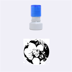 Heirloom Tomatoes Rubber Round Stamps (Small)