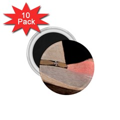 Straw Hats 1.75  Magnets (10 pack)