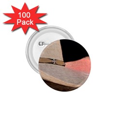 Straw Hats 1.75  Buttons (100 pack)