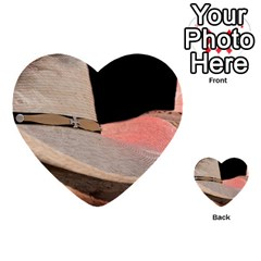 Straw Hats Multi Purpose Cards (heart)