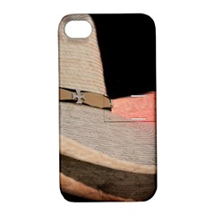 Straw Hats Apple Iphone 4/4s Hardshell Case With Stand