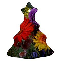 Colorful Flowers Ornament (Christmas Tree)