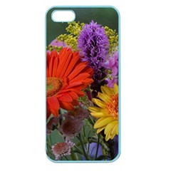 Colorful Flowers Apple Seamless iPhone 5 Case (Color)