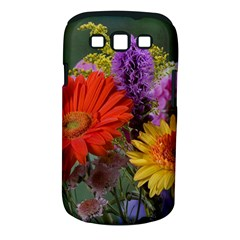 Colorful Flowers Samsung Galaxy S III Classic Hardshell Case (PC+Silicone)
