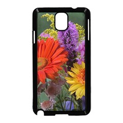 Colorful Flowers Samsung Galaxy Note 3 Neo Hardshell Case (Black)