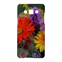 Colorful Flowers Samsung Galaxy A5 Hardshell Case