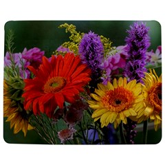 Colorful Flowers Jigsaw Puzzle Photo Stand (Rectangular)