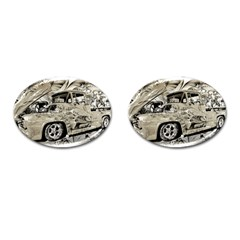 Old Ford Pick Up Truck  Cufflinks (Oval)