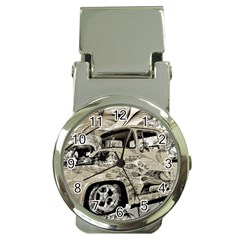 Old Ford Pick Up Truck  Money Clip Watches
