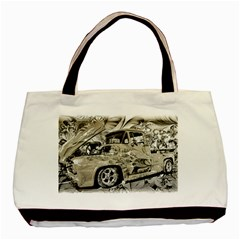 Old Ford Pick Up Truck  Basic Tote Bag