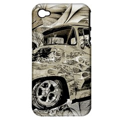 Old Ford Pick Up Truck  Apple iPhone 4/4S Hardshell Case (PC+Silicone)