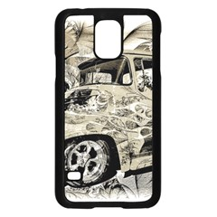 Old Ford Pick Up Truck  Samsung Galaxy S5 Case (Black)