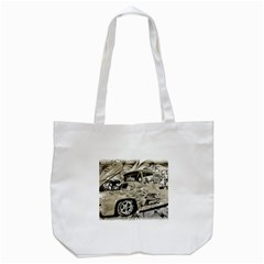 Old Ford Pick Up Truck  Tote Bag (White)