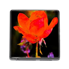 Red Beauty Memory Card Reader (Square)