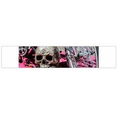 Skull and Bike Flano Scarf (Large)