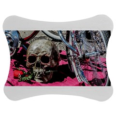 Skull And Bike Jigsaw Puzzle Photo Stand (bow)