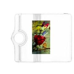 Rusty Globe Mallow Flower Kindle Fire HDX 8.9  Flip 360 Case