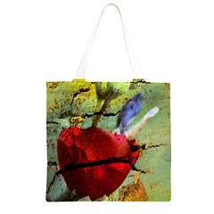 Rusty Globe Mallow Flower Grocery Light Tote Bag