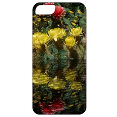 Cactus Flowers with Reflection Pool Apple iPhone 5 Classic Hardshell Case