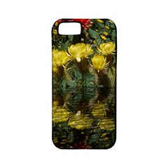 Cactus Flowers with Reflection Pool Apple iPhone 5 Classic Hardshell Case (PC+Silicone)