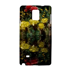 Cactus Flowers with Reflection Pool Samsung Galaxy Note 4 Hardshell Case
