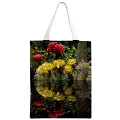 Cactus Flowers with Reflection Pool Classic Light Tote Bag