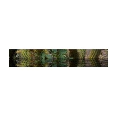 Cactus Flowers with Reflection Pool Flano Scarf (Mini)