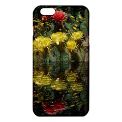 Cactus Flowers With Reflection Pool Iphone 6 Plus/6s Plus Tpu Case