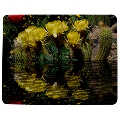 Cactus Flowers with Reflection Pool Jigsaw Puzzle Photo Stand (Rectangular)