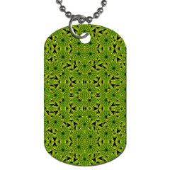 Geometric African Print Dog Tag (Two Sides)