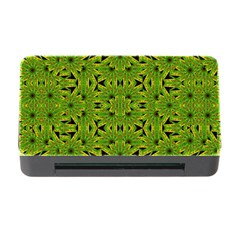 Geometric African Print Memory Card Reader with CF