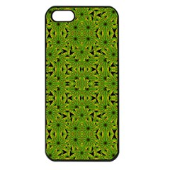 Geometric African Print Apple iPhone 5 Seamless Case (Black)