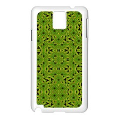 Geometric African Print Samsung Galaxy Note 3 N9005 Case (White)
