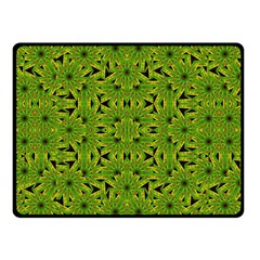 Geometric African Print Double Sided Fleece Blanket (Small)