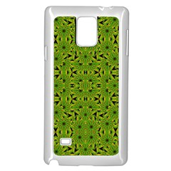 Geometric African Print Samsung Galaxy Note 4 Case (White)