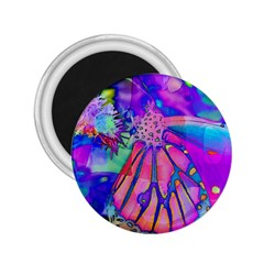 Psychedelic Butterfly 2.25  Magnets